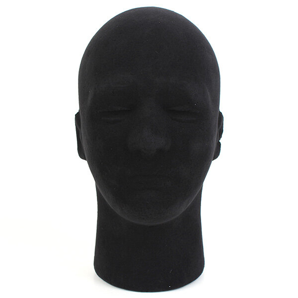 Male Styrofoam Foam Mannequin Manikin Head Stand Model Display Wigs