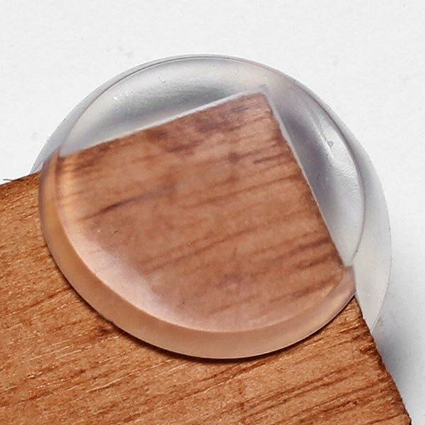 Spherical Transparent Table Corner Protector For Baby Safety фото