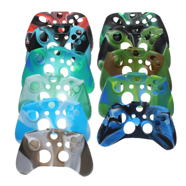 Camouflage Silicone Protective Case Cover For XBOX ONE Controller