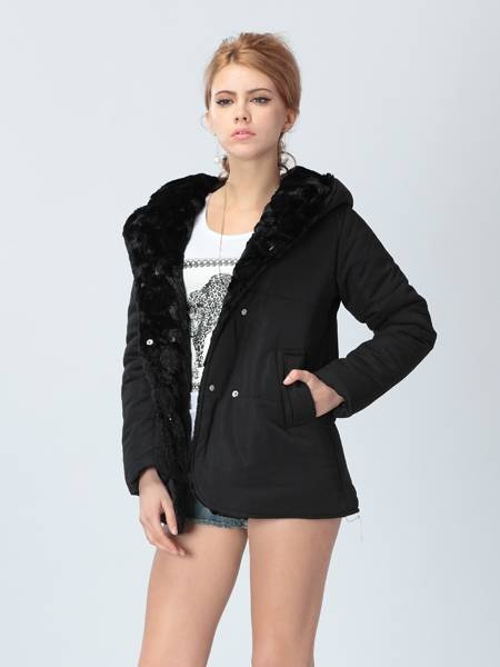 Women Slim Long Large Size Thick Padded Jacket Padded Warm Jacket Coat