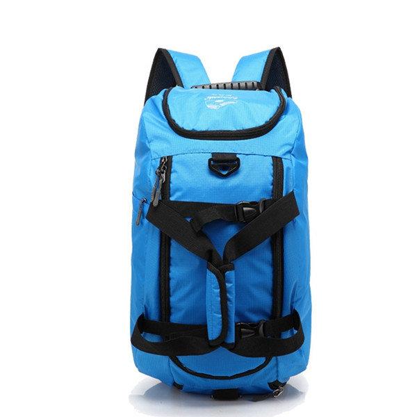 Mujeres hombres mochila ocio deporte de nylon impermeable mochila bolsa de viaje