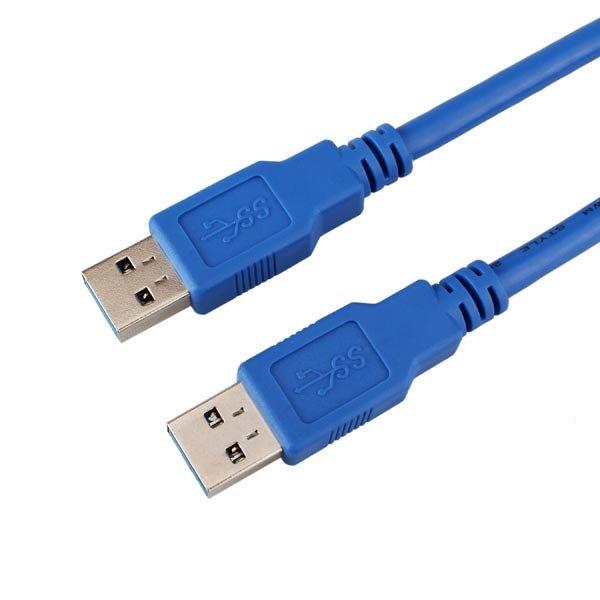 데이터 용 Male USB 연장 케이블을 입력하려면 1m USB 3.0 Type A 남성