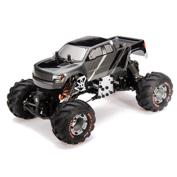 HBX 2098B 1/24 4WD Mini RC Climber / Crawler Chassis Logam