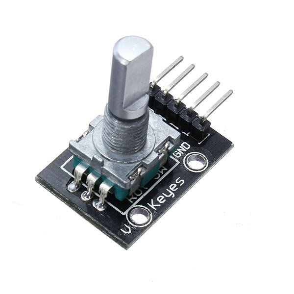 5Pcs 5V KY-040 Rotary Encoder Module AVR PIC Geekcreit for Arduino - products that work with official Arduino boards