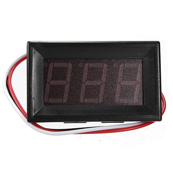 0.56 Inch DC 0-10/30/200V 3 Wire LED Volt Meterr Digital Display Panel