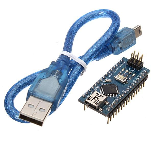ATmega328P Nano V3 Module Improved Version With USB Cable Development Board Geekcreit for Arduino - products that work with official Arduino boards