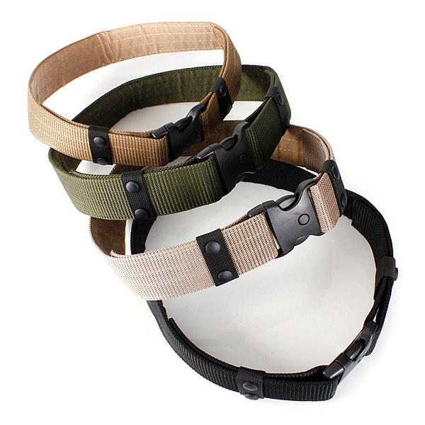 Outdoor Adjustable Waist Belt Strap Hunting Security Duty Utility Waist Belt