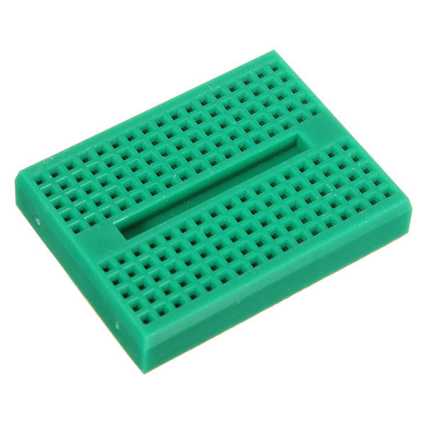 5Pcs Green 170 Holes Mini Solderless Prototype Breadboard For Arduino