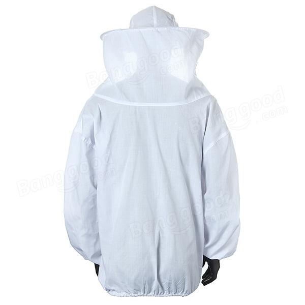 Beekeeping Suit Jacket Veil and Bee Hat Dress Smock Equip Protection