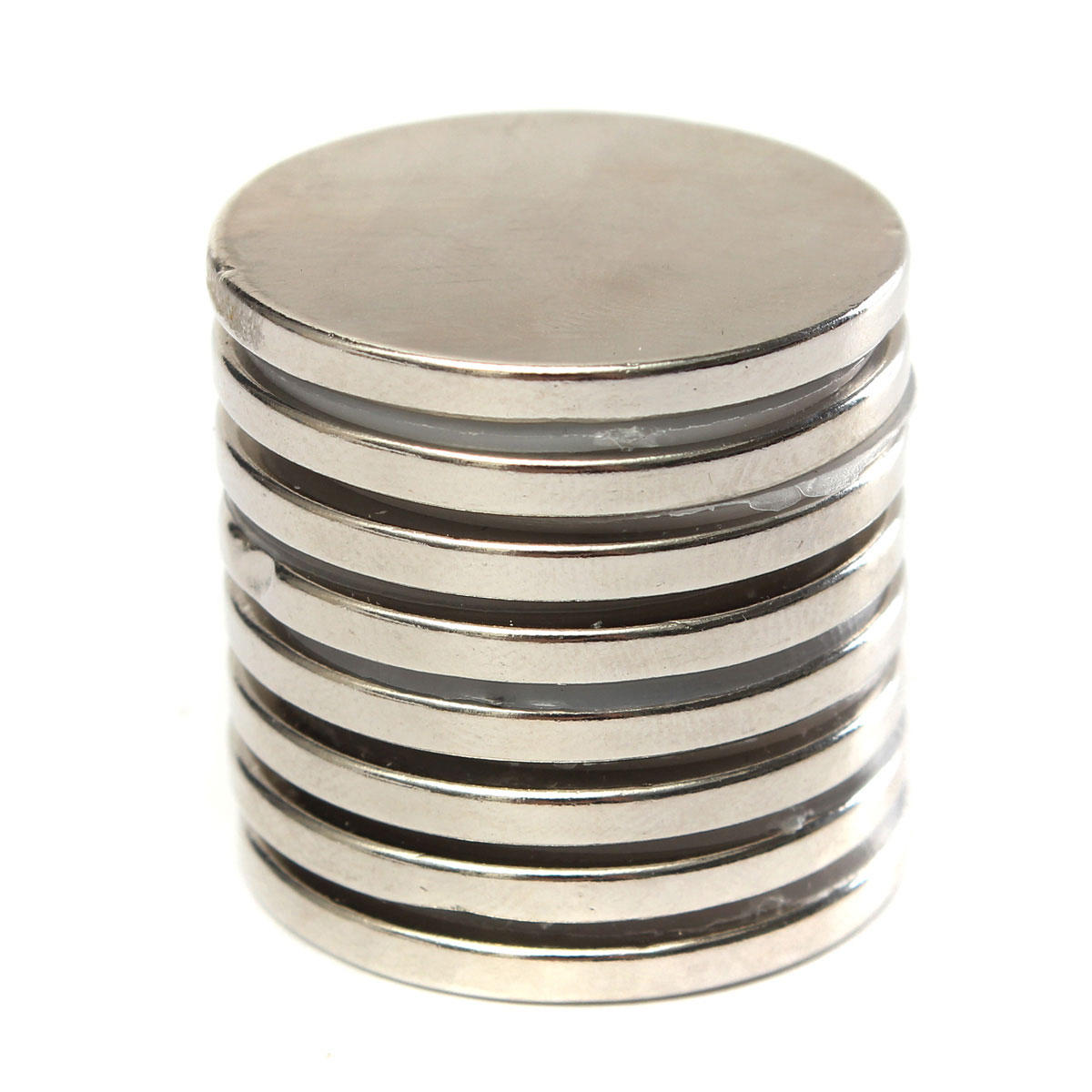 20pcs N50 15x4mm Strong Round Neodymium Magnets 4mm Hole Countersunk Ring Magnet - 3