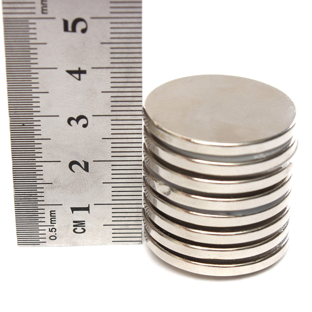 20pcs N50 15x4mm Strong Round Neodymium Magnets 4mm Hole Countersunk Ring Magnet - 4