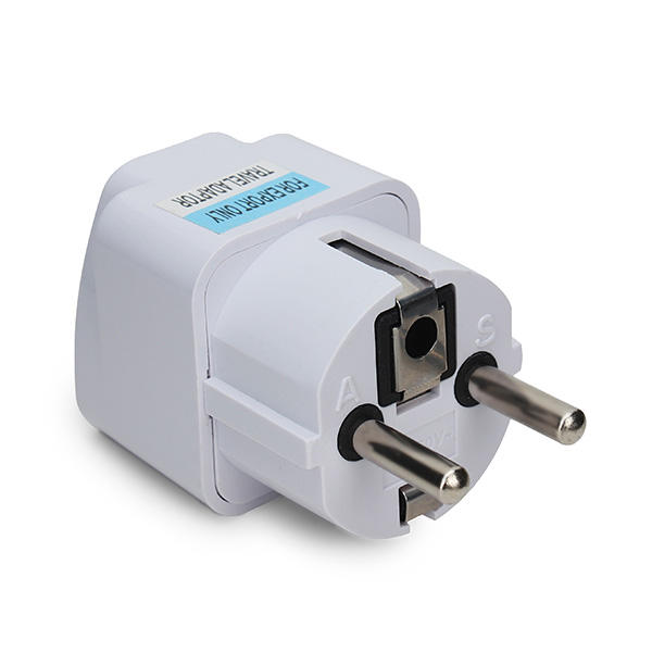 5Pcs Travel Charger Converter US AU IT BR CH To EU KR Plug Adapter AC Power