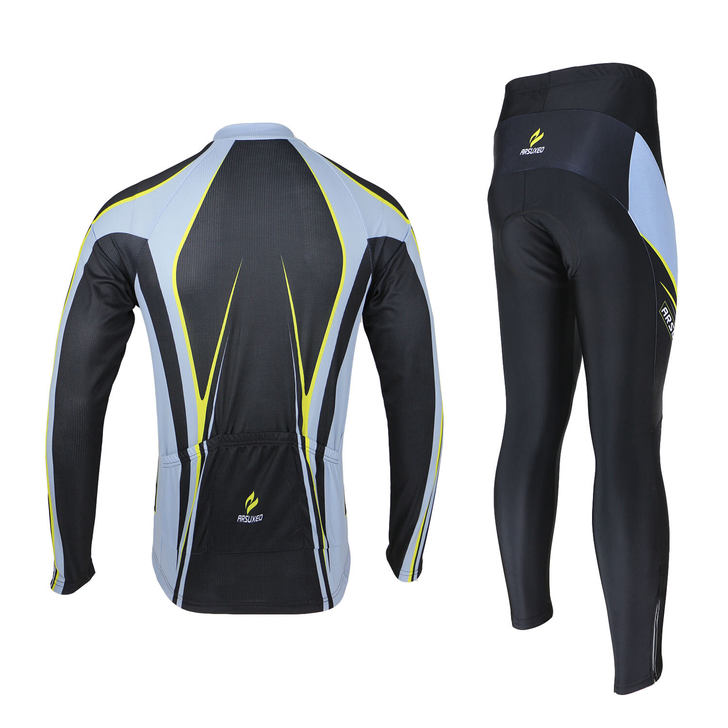 Mens Bicycle Bike Clothing Suit Cycling Cloth Sportswear Bib Shorts - 9