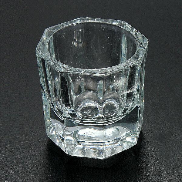 एक्रिलिक तरल पाउडर के लिए पेशेवर नाखून कला क्रिस्टल ग्लास कप