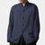 INCERUN Erkek Vintage Pamuk Stand Yaka Uzun Kol Casual Gömlek