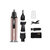 DSP 4 in 1 USB Charging Electric Nose Hair Trimmer Low Noise Nasal Hair Apparatus Multi-functional Nose Ear Hair Beard Eyebrow Shaver Hair Scraper