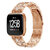 Bakeey H-type Diamond Stainless Steel Watch Band for Fitbit versa Smart Watch