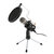 Professional Condenser Microphone Stereo Mic With Stand for Phone PC Karaoke Recording Podcasting