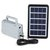 3W Solar Generator Home DC System Kit with 2 LED Light Bulb Emergency Lamp For Outdoor Camping