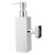 Stainless Steel Hand Soap Dispenser Liquid Bottle Holder Wall Mounted Bathroom Storage