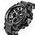 SMAEL 1803 Metal Case Luminous Needle 5ATM Waterproof Sport Dual Display Digital Watch