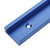 Blue 300-1200mm T-slot T-track Miter Track Jig Fixture Slot 30x12.8mm For Table Saw Router Table Woodworking Tool