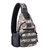 Cycling Sports Chest Bag Outdoor Tactics Backpack with USB Charging Chest Bag Leisure Bag