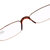 TR90 360 Degree Rotatable Reading Glasses with Case HD Resin Computer Presbyopic Eyeglasses