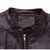 Mens Fashion PU Leather Casual Stand Collar Zipper Jackets Autumn Solid Color Coat