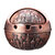 Vintage Round Alloy Ashtray Stand Windproof Lid Portable Home Decorations