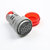 0-99Hz Digital Display Electricity Hertz Meter Frequency Meter Indicator Light AC Meter Combo Tester