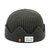Mens Middle-aged Dome Windproof Kint Sailor Cap Fashion Crimped Brimless Hats