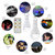 7W 5 Modes USB Rechargeable Emergency Outdoor Tent Camping LED Light Bulb+6Keys Remote Control DC5V