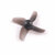 Happymodel Mobula7 Part 40mm 1.0mm Hole 4-Blade Propeller 2 CW & 2 CCW for 0603 0703 0802 Motor
