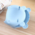 Plastic Double Layer Snack Box Multipurpose Lovely Bear Shape Phone Stand Kitchen Storage Container