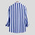 Mens Casual Business Long Sleeve Classic Striped Shirts