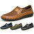 Menico Big Size Men Hand Stitching Breathable Honeycomb Mesh Loafers Flats