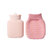 Silicone Hot Water Bottle Microwave Heating Water Bag Ice Pack Silicone Portable Hand Warmer