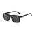 Magnetic Frame Six-in-one Sunglasses Glasses Frame Five-piece Sunglasses Retro Men And Women Polarized Sunglasses