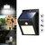 40 LED luz de energia solar PIR movimento Sensor segurança jardim ao ar livre lâmpada de parede à prova d 'água