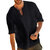 Mens Vintage Casual Loose Solid Color Tops T Shirts