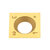 Drillpro Titanium Coated Wood Carbide Insert Milling Cutter For Wood Turning Tool Woodworking