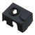 Black Hotend Silicone Case For V6 PT100 Aluminum Block 3D Printer Part