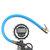 Mandril del aire del probador del indicador de presión del inflador del neumático digital 220PSI 16Bar Manguera