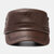 Men's PU Leather Flat HatS Casual With Knit Hats Warm Hats