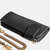 Men Anti-Theft Vintage Long Zipper Wallet Card Holder With Chain
