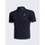 Mens Casual Solid Color Embroidery Quick Drying Golf Shirt Breathable Short Sleeve Tops