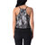 Mujeres Summer Lace Crop Camisole Casual sin mangas sin mangas