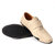 Menico Men Genuine Leather Hand Stitching Lightweight Hook Loop Soft Casual Flats Shoes