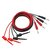 Cleqee P1039 4mm Banana Plug to Test Hook Clip Test Lead Cable For Multimeter